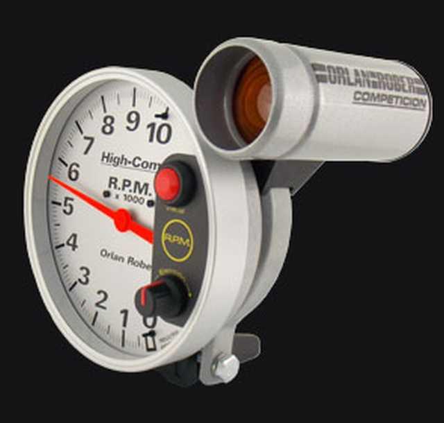 Tacometro 10000 rpm alta competicion plata orlan rober