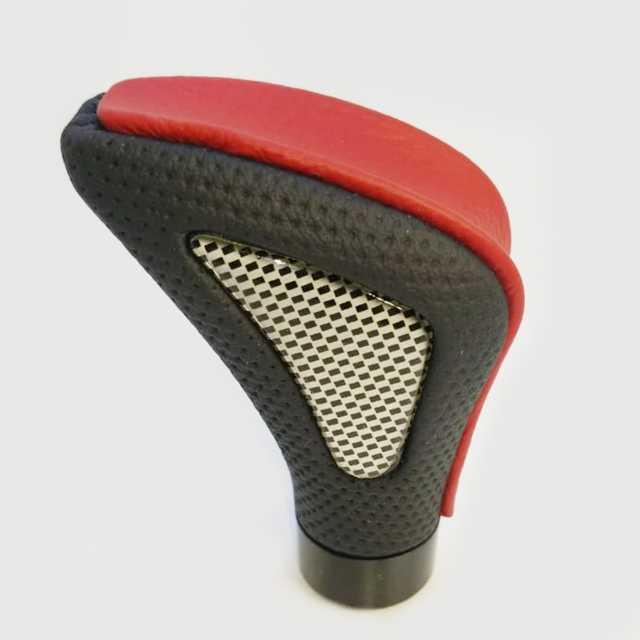 Pomo deportivo premium triangulo central rojo