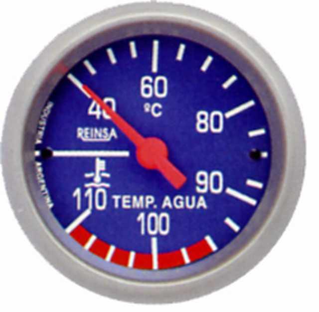 Temperatura mec. cap. reinsa 1,50 mts. 52 mm azul