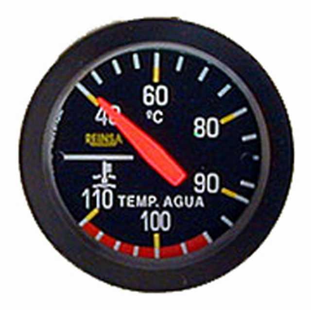 Temperatura mec. cap. reinsa 1,50 mts. 52 mm negro