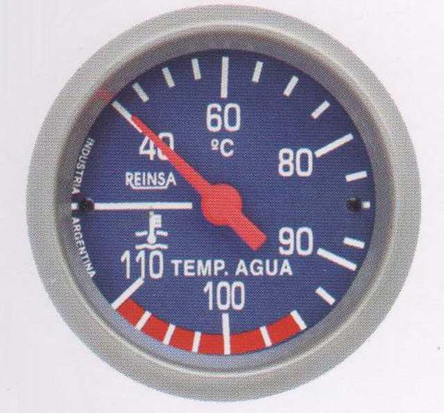 Temperatura mec. cap. reinsa 2 mts. 52 mm azul