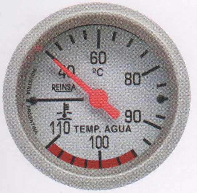 Temperatura mec. cap. reinsa 2 mts. 52 mm gris
