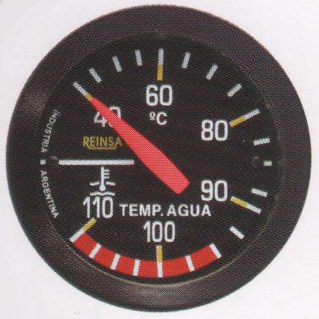 Temperatura mec. cap. reinsa 2,00 mts. 52 mm negro