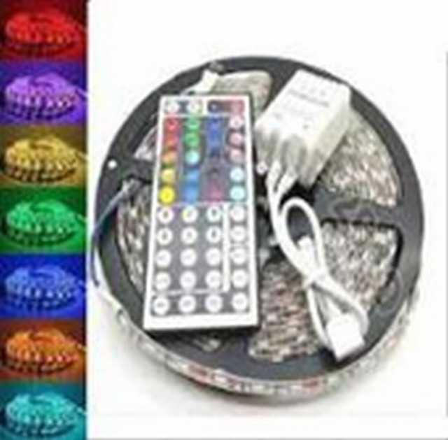 Rollo 24v 5 mts smd 3,5 x 2,8 mm rgb colores comb. c-control