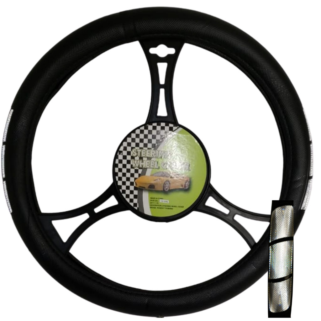 Cubre volante ac tricolor reflectivo gris