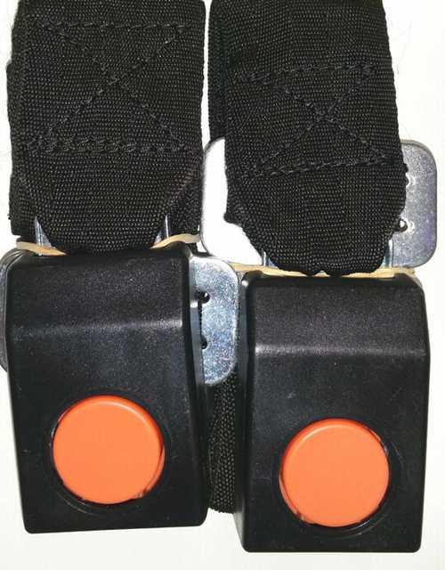 Cinturon seguridad trasero x jgo.