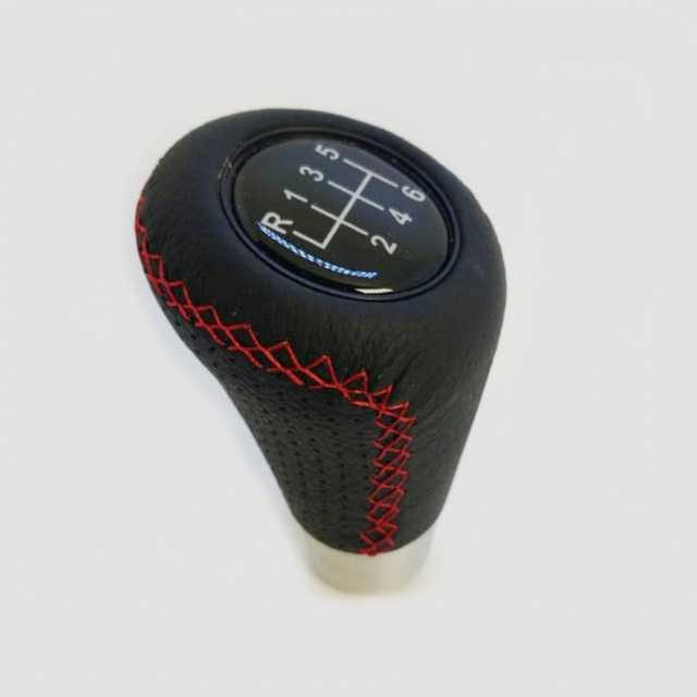 Pomo deportivo premium costura roja logo caja 6ta