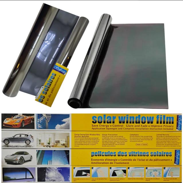 Lamina polarizar 15% dark black 50 cm x 3 mts afp806