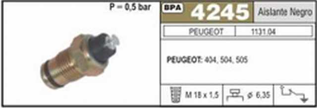 Bpa peugeot 404-504-505