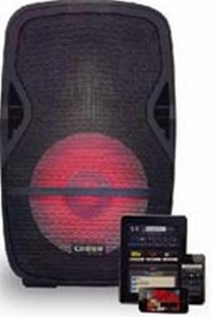 Gabinete acustico 2v 15 pulg. 1000w rms:250w bluet-usb-radio