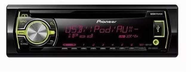 Reproductor cd pioneer mp3-usb-aux-mix-color-ipod