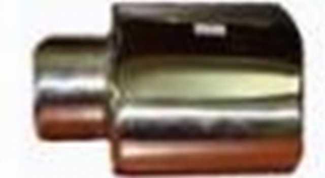 Colita de escape cromada chaucha fs707018