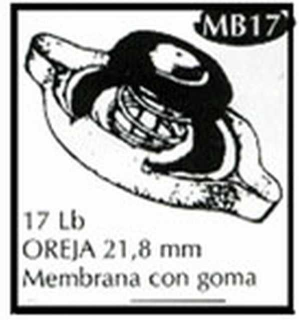 Tapa caja amarilla mb17