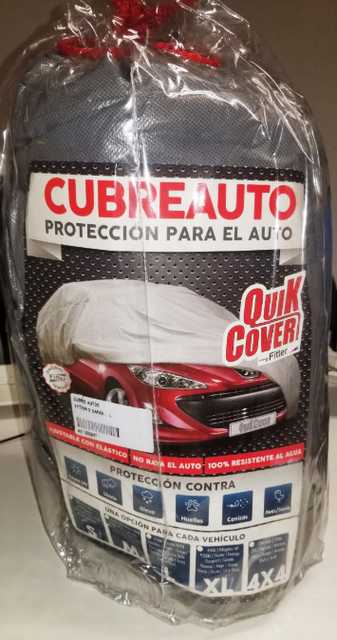 Cubre auto bicapa impermeable xl 3.30x6.30 3008 vento kuga