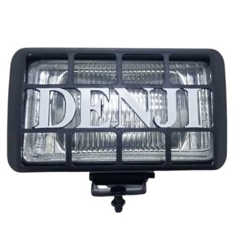Jgo faros rectangular 165 x 95mm cristal c-reja negra (10)