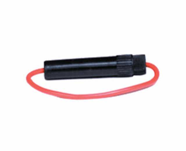 Porta fusible conico aereo a rosca c-cable 14ga tr021