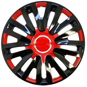 Taza rueda 14 negro-rojo 30145 x jgo.
