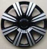 Taza rueda 14 negro-gris 30149 x jgo.