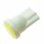 Lampara t10 1cob 1w 24v blanco