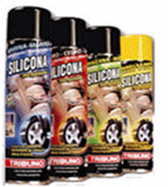 Silicona en aerosol x 400 cc fragancias varias (12)