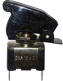 Llave palanca metalica con cubierta transparente