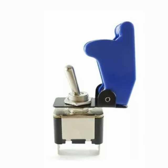 Llave palanca metalica con cubierta azul