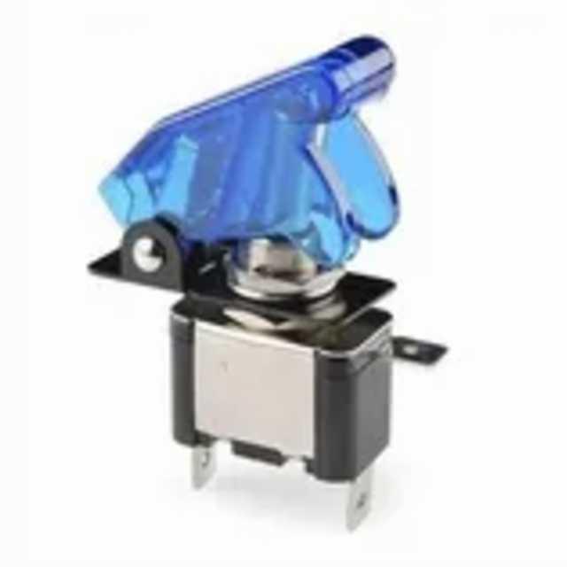 Llave palanca metalica c-cubierta c-luz azul gga034