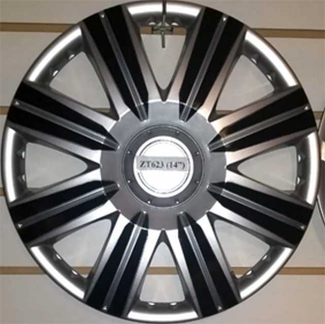 Taza rueda 14 gris-negra zt-623 x jgo