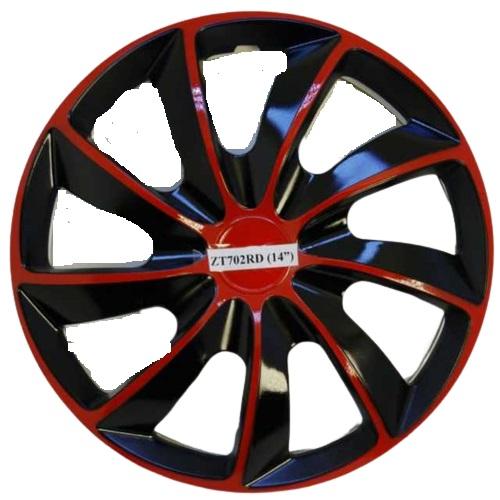 Taza rueda 14 negro-rojo zt-702 x jgo