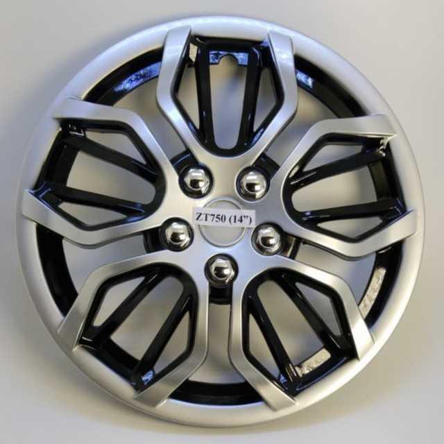 Taza rueda 14 gris-negra zt-705 x jgo